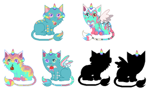 Unicat breeding #1 (CLOSED) by rockythebunny13