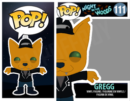 Gregg with Hat PopVinyl (Night in the Woods) by FlipOffRoy