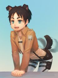 Eren puppy by Advanced-Random