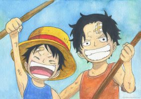 Two Brothers by ShiNoGekai