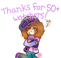 Thank you for 50+ watchers! by InspirationalGabrie