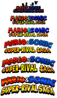 Evolution of a Logo: Super-Rival Saga by ShadicStudios
