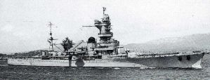 French cruiser Algerie by achmedthedeadteroris