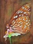 Butterfly fairy by Sketchda