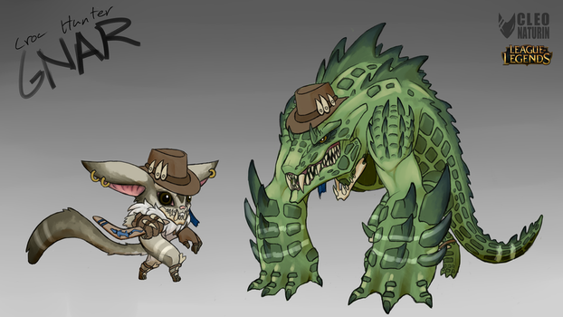 Croc Hunter Gnar - Concept by Kanoro-Studio