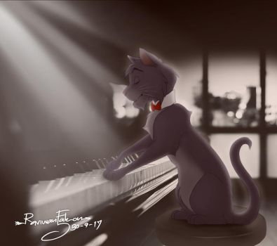 Berlioz The Pianist by RFakonWolf