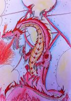 Red Ruby Dragon by Viperwings