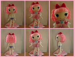Crocheted Lalaloopsy by Yuki87
