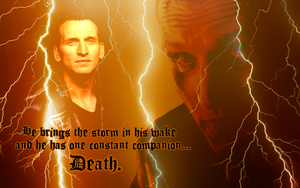 Ninth Doctor widescreen wallpaper by Leda74