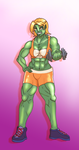 Orc Sport Bra by MagicBlades