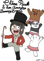 Chloe Park and her Amazing Dancing Bears - Fanart by Selecthumor