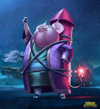KFP : Battle of Destiny / Cosmic Pig by Phil-G-Ramsay
