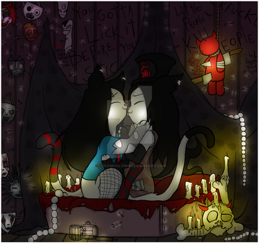 Night Of Ghouls by TheFawnFlying