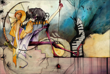 In The Court Of love. by the-surreal-arts