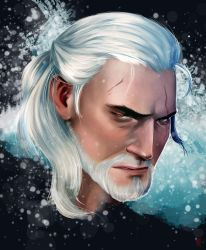 The Witcher - Geralt by IvoryBlack91