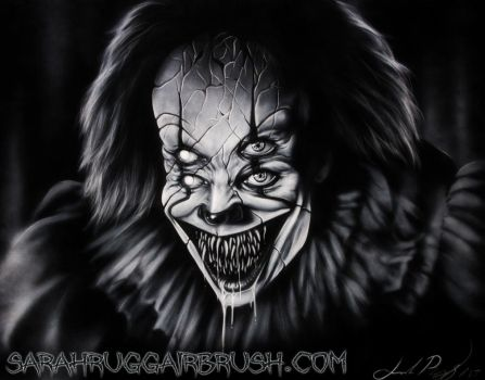 Projector Pennywise by Jackolyn