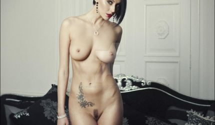 Boobs Erotic Pussy Tattoo Girl Hot Woman Naked by erotichdworld89