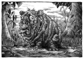 The Squonk by Loneanimator