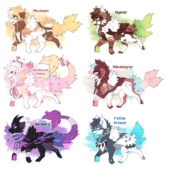 Taskukokoinen Adopts - Flatsale ( closed ) by prince-o-sky