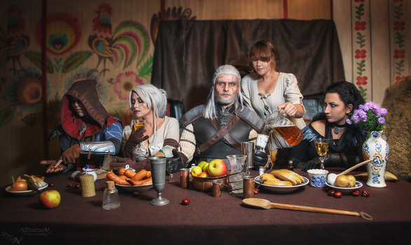 Last supper by Hadvi