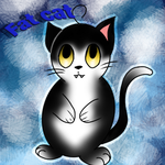 The fat Cat  by Pinkwolfly