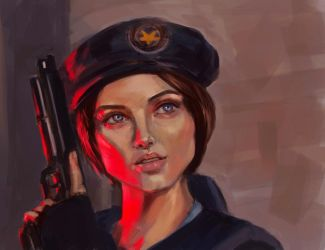 Jill Valentine by AresNeron