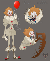 Clown Scribbles by Rodent-blood