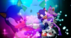Sonic and Blaze - Forever by groovykid2000