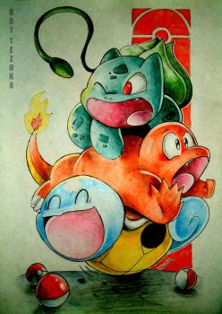3 starters by Donffy
