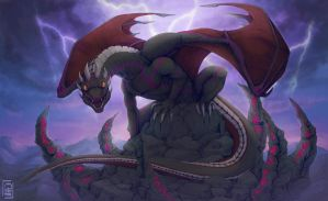 The Stormbringer by etrii