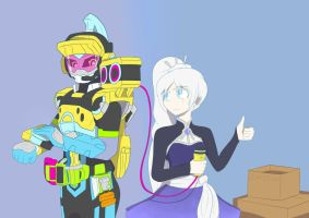 RWBY (Weiss Schnee) x EX-AID (Brave): PLAN by CruXBasher
