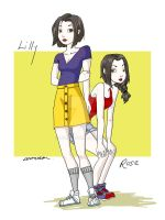 Snow White and Rose Red by lyles