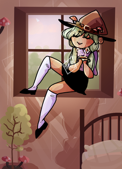 Peaceful Witch by ShoLikesTea