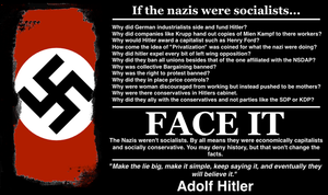 If the Nazi's were socialists... by RedAmerican1945