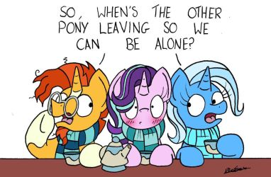 'Friendship' Problems by bobthedalek