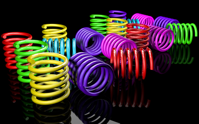 Colorful Springs 3D (1) by BroVaR87