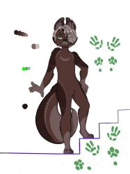 new furry oc (shaded version) by Tikimillie