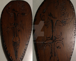 Final Fantasy 8 Griever Wood Burning by Le-Smittee