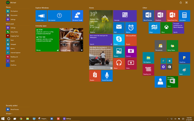 Playing Around with Windows 10 by dAKirby309