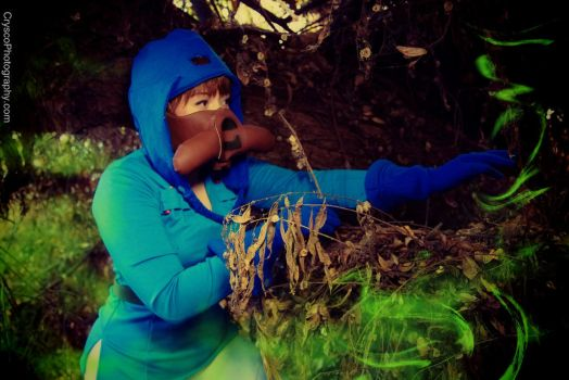 It's hard to believe these spores could kill me. by SPiCEYCOSPLAY