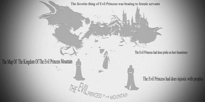 The Map Of The Kingdom Of The Evil Princess by Waqas57