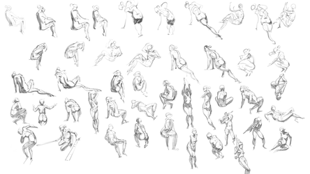 Gesture session 1 by z4m97