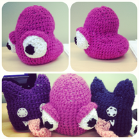 Cloudstone - Crocheted Bloop by AngryPotato