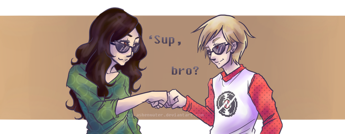 Bros for Life by ashenwater