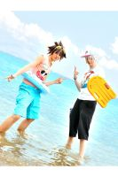 Let's go to the beach ... Today by Evil-Uke-Sora