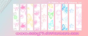 Kawaii Patterns PS by Coby17