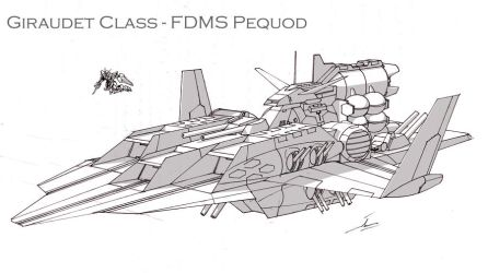 FDMS Pequod by Tecmopery