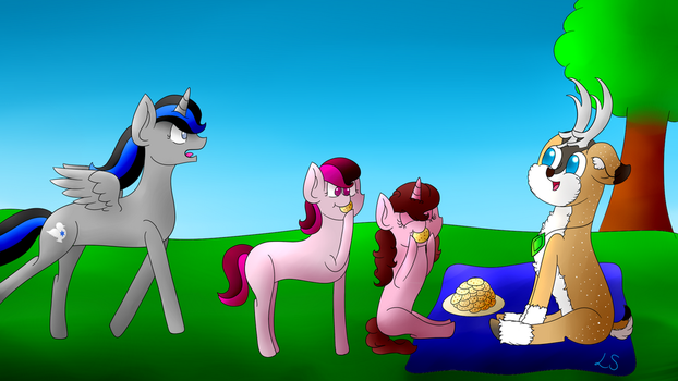 Meeting Tyandaga Art Contest by Lily-Sparkle