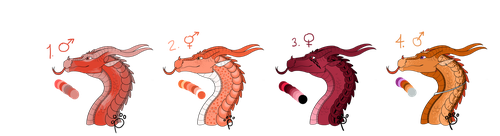 !! AB LOWERED SkyWing Auction Adopts (OPEN!!) by talons-and-tails