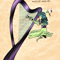 Oh, the Melody of the Harp by NiveusSol